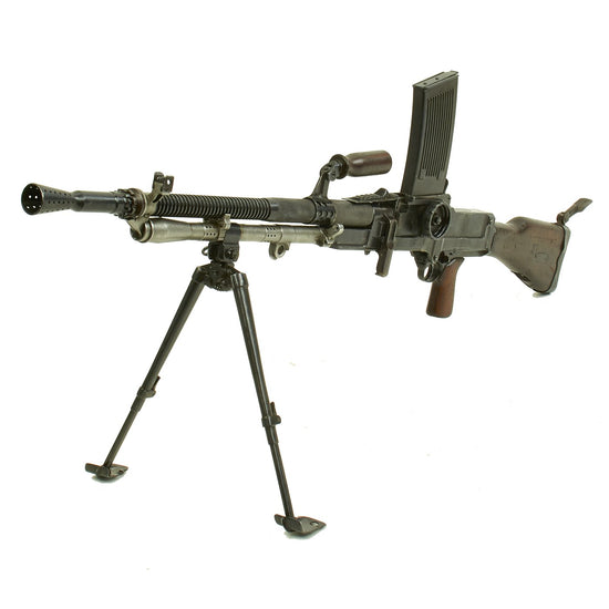 Original WWII Czech ZB-30 German MG30(t) Display Machine Gun Original Items