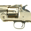 show larger image of product view 6 : Original Excellent U.S. Smith & Wesson Nickel-Plated First Model Russian No. 3 Revolver in .44 Russian - Serial 14564 Original Items
