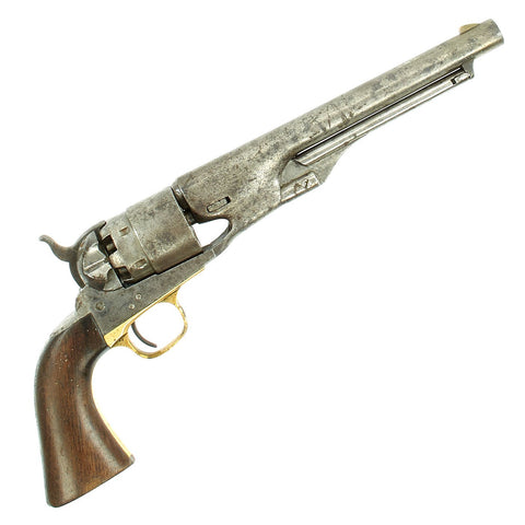 Original U.S. Civil War Colt Model 1860 Army Percussion Revolver made in 1862 - Serial No 45961