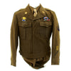 show larger image of product view 4 : Original U.S. WWII 319th Glider Field Artillery Battalion GFAB Named Grouping