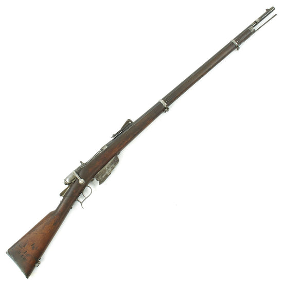 Original Italian Vetterli M1870/87/15 Infantry Rifle made in Torino Converted to 6.5mm - Dated 1876