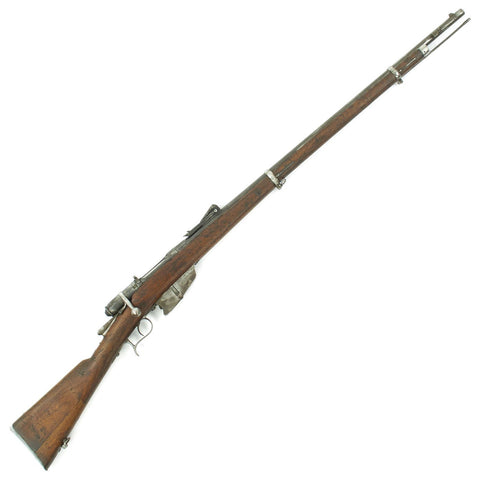 Original Italian Vetterli M1870/87/15 Infantry Rifle made in Terni Converted to 6.5mm - Dated 1886 Original Items