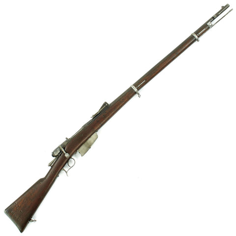 Original Italian Vetterli M1870/87/15 Infantry Rifle made in Brescia Converted to 6.5mm - Dated 1879 Original Items
