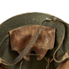 show larger image of product view 11 : Original Swedish WWII Era M21 High Top Steel Helmet with Liner and Chinstrap Original Items