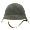 show larger image of product view 5 : Original Swiss WW2 M18/43 Steel Combat Helmet with 3/4 Ring Liner - Excellent Condition Original Items