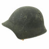 show larger image of product view 3 : Original Swiss WW2 M18/43 Steel Combat Helmet with 3/4 Ring Liner - Excellent Condition Original Items
