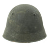 show larger image of product view 6 : Original Swiss WW2 M18/43 Steel Combat Helmet with 3/4 Ring Liner - Excellent Condition Original Items