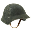 show larger image of product view 2 : Original Swiss WW2 M18/43 Steel Combat Helmet with 3/4 Ring Liner - Excellent Condition Original Items