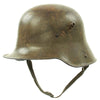 show larger image of product view 4 : Original Imperial German WWI M16 Stahlhelm Army Helmet Shell with Chinstrap - marked E.T.62 Original Items