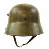 show larger image of product view 6 : Original Imperial German WWI M16 Stahlhelm Army Helmet Shell with Chinstrap - marked E.T.62 Original Items