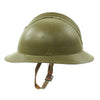 show larger image of product view 6 : Original WWII French M1926 Adrian Helmet without Badge - Olive Green Original Items