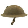 show larger image of product view 7 : Original WWI U.S. Marine Corps 1st Battalion 5th Marines M1917 Doughboy Helmet with Textured Paint - 2nd Division Original Items