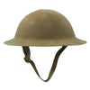 show larger image of product view 8 : Original WWI U.S. Marine Corps 1st Battalion 5th Marines M1917 Doughboy Helmet with Textured Paint - 2nd Division Original Items
