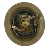 show larger image of product view 10 : Original WWI U.S. Marine Corps 1st Battalion 5th Marines M1917 Doughboy Helmet with Textured Paint - 2nd Division Original Items