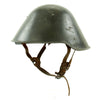 show larger image of product view 2 : Original Cold War East German M56 Mod 2 VOPO Steel Combat Helmet - dated 1960 Original Items