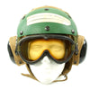 show larger image of product view 1 : Original U.S. Navy Aircraft Carrier Flight Deck Crew HGU-25/P Helmet of CVWR-30 Carrier Air Wing Reserve 30 Original Items