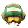 show larger image of product view 7 : Original U.S. Navy Aircraft Carrier Flight Deck Crew HGU-25/P Helmet of CVWR-30 Carrier Air Wing Reserve 30 Original Items