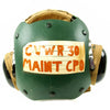 show larger image of product view 2 : Original U.S. Navy Aircraft Carrier Flight Deck Crew HGU-25/P Helmet of CVWR-30 Carrier Air Wing Reserve 30 Original Items