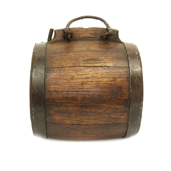 Original Naval Gunner's Water Keg Marked to Spanish Ship SAN JOSEF 1797