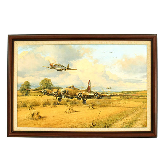 Out of Fuel and Safely Home by Robert Taylor - Masterworks Giclee on Canvas Edition #29 of 100 Original Items