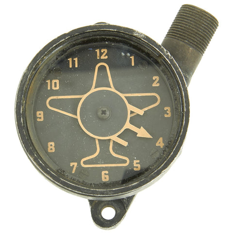 Original U.S. WWII USAAF B-17 B-24 Bomber Lower Ball Turret Azimuth Position Indicator Original Items