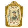 show larger image of product view 1 : Original WWII U.S. Navy Sailor Remember Pearl Harbor Color Portrait in Bubble Glass Frame Original Items