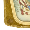 show larger image of product view 5 : Original WWII U.S. Navy Sailor Remember Pearl Harbor Color Portrait in Bubble Glass Frame Original Items