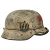 show larger image of product view 2 : Original German WWII Refurbished M40 SS Battle of Leningrad Winter Medic Sanität Helmet - Size 66 Shell Original Items