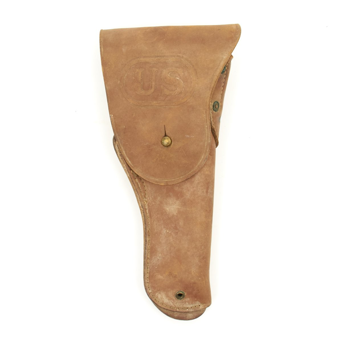 Original U S  WWII M1916  45 Colt 1911 Leather Holster by