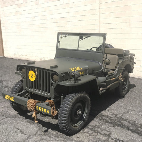 Original U.S. WWII 1944 WILLYS MB JEEP with Correct Serial Numbers - Fully Restored