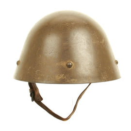 "Original Czechoslovakian Pre-WWII Vz32/M32 ""Egg-Shell"" Steel Helmet dated 1936"