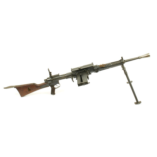 Original Italian WWII Breda Model 30 Display Light Machine Gun - MG 099(i)