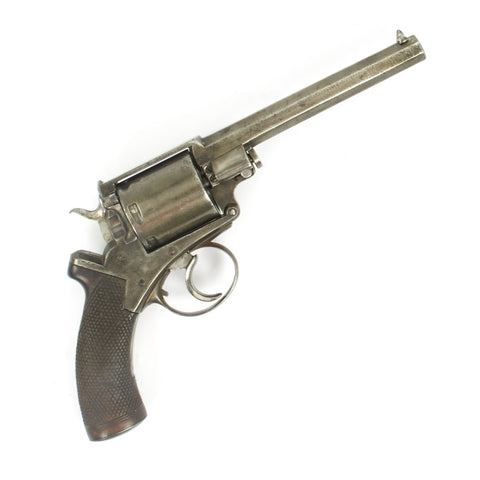 Original British Victorian Zulu War Era Model 1872 Mk.II Adams .450 Revolver - Matching Serial 1537