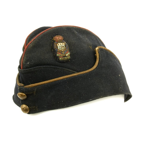 Original British WWII-Era Named Royal Army Medical Corps Side Cap