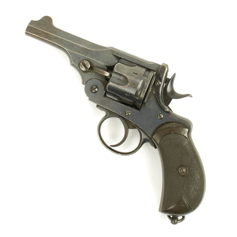 Original British Victorian Royal Navy Webley .455cal Mark I Antique Revolver Serial 36477 - Unaltered
