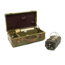 Original U.S. WWII Army Air Force 16mm GSAP Camera with Case