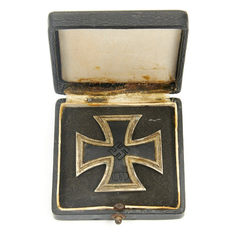 Original German WWII Iron Cross First Class 1939 in Original Case