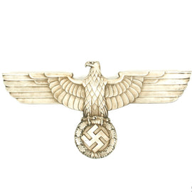 Original German WWII 27 Inch Railroad Train Eagle Deutsche Reichsbahn Adler