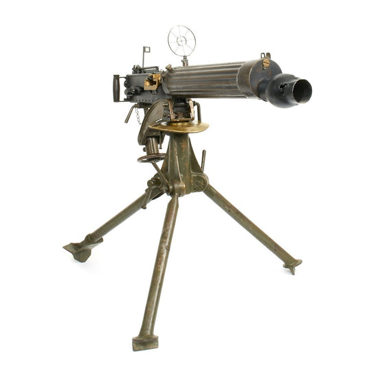 Original Pre-WWII Turkish Contract Vickers Display Machine Gun with Original Tripod