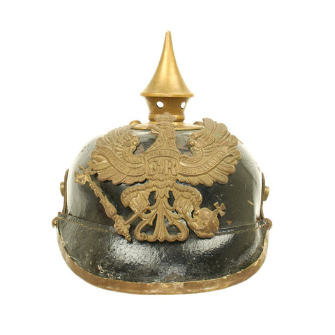 Original German WWI Prussian M1895 Pickelhaube Spiked Helmet