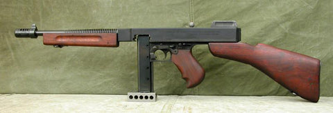Thompson M1928A1 Dummy Submachine Gun: Aluminum Receiver (One Only)