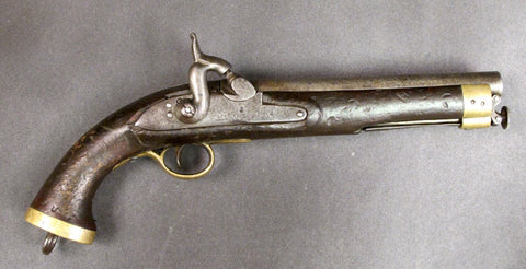 British East India Company Antique Cavalry Pistol (One of a Kind)