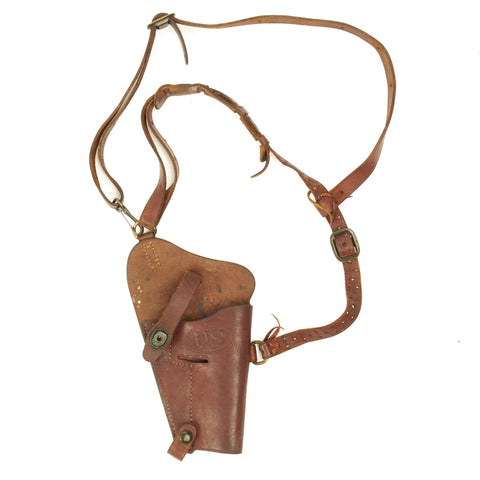 Original U.S. WWII USMC M7 Colt 1911 .45 Shoulder Holster Rig by BOYT - 1945 Dated