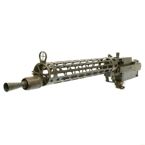 Original German WWI Maxim LMG 08/15 Aircraft Display Machine Gun - Spandau 1918 - Matched Serial Numbers