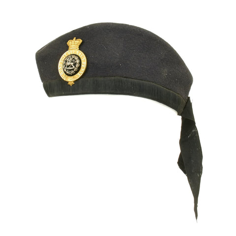 Original British Victorian South Wales Borderers Glengarry Side Cap - Circa 1885