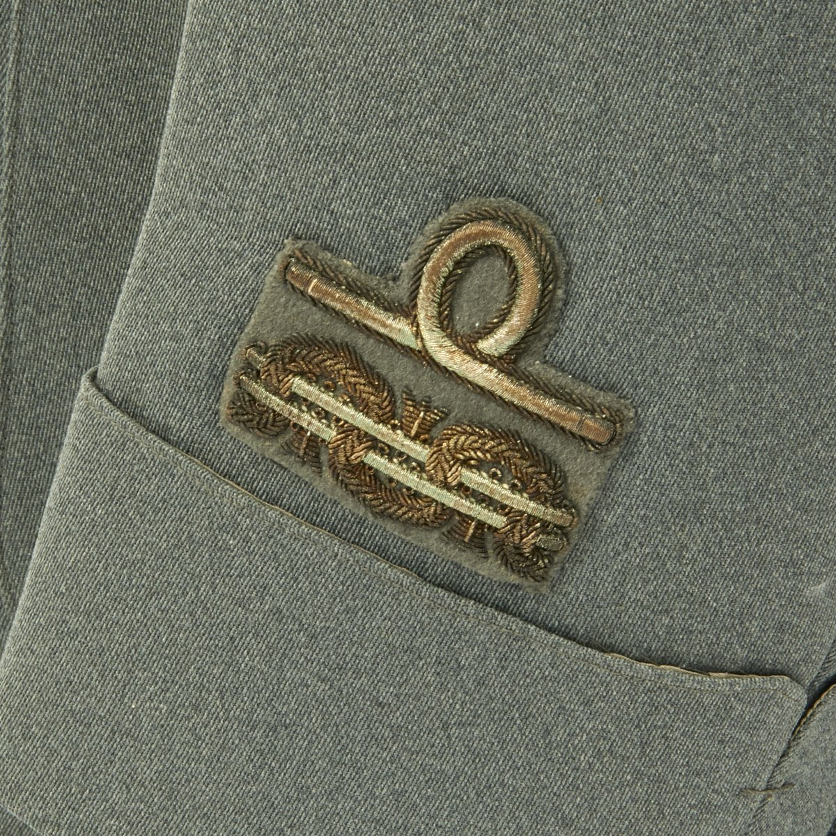 50be358fdad Original WWII Italian General Uniform with Bustina Field Cap and Greatcoat