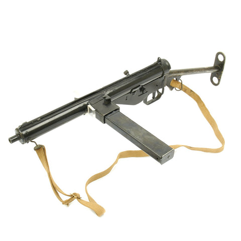 Original British WWII Sten MkIII Display SMG with Sling