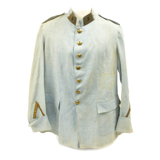 Original French Light Blue Foreign Legion Tunic from 1926 Silent Film BEAU GESTE