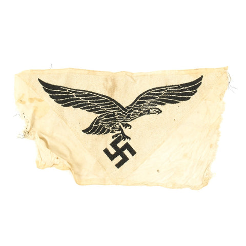 Original German WWII Luftwaffe Sports Shirt Eagle Insignia for M35 Sport Shirt - Unissued