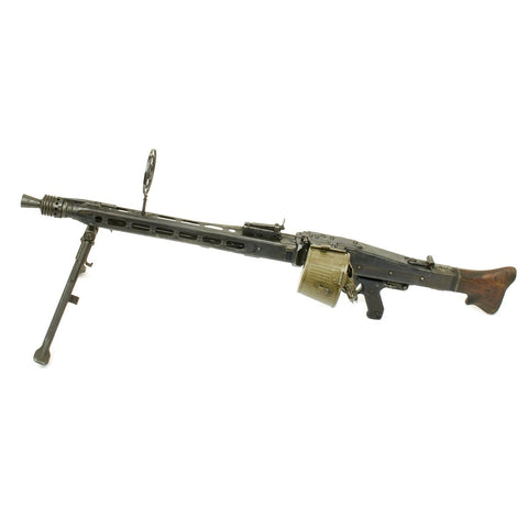 Original German WWII MG 42 Display Machine Gun with Original Receiver - Marked swd